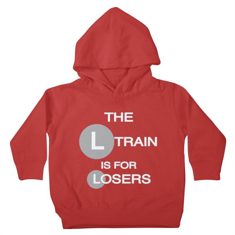 L Train Kids Toddler Pullover Hoody by Shirts That Never Happened