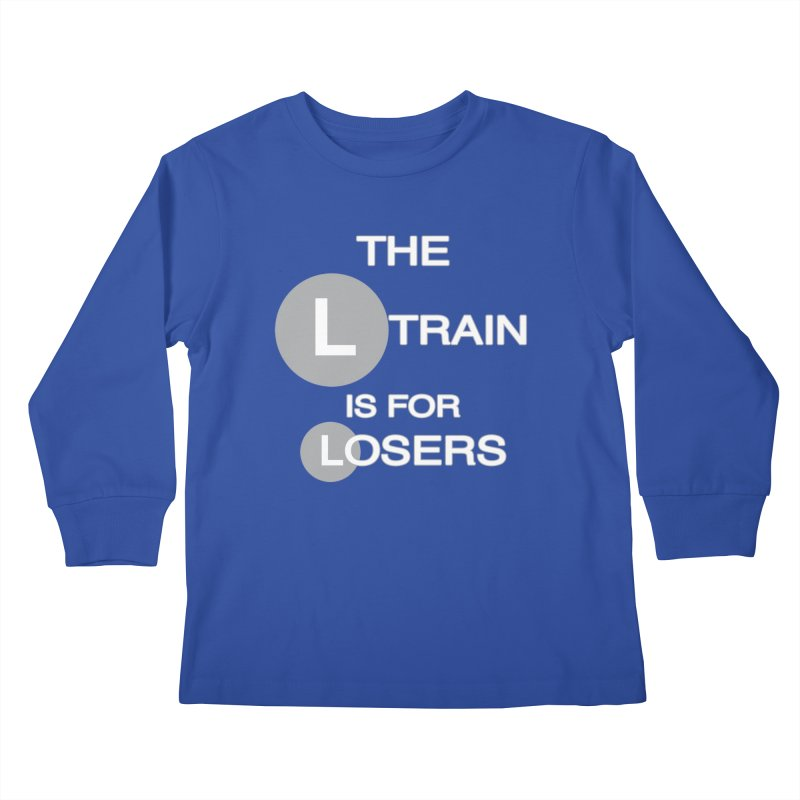 L Train Kids Longsleeve T-Shirt by Shirts That Never Happened