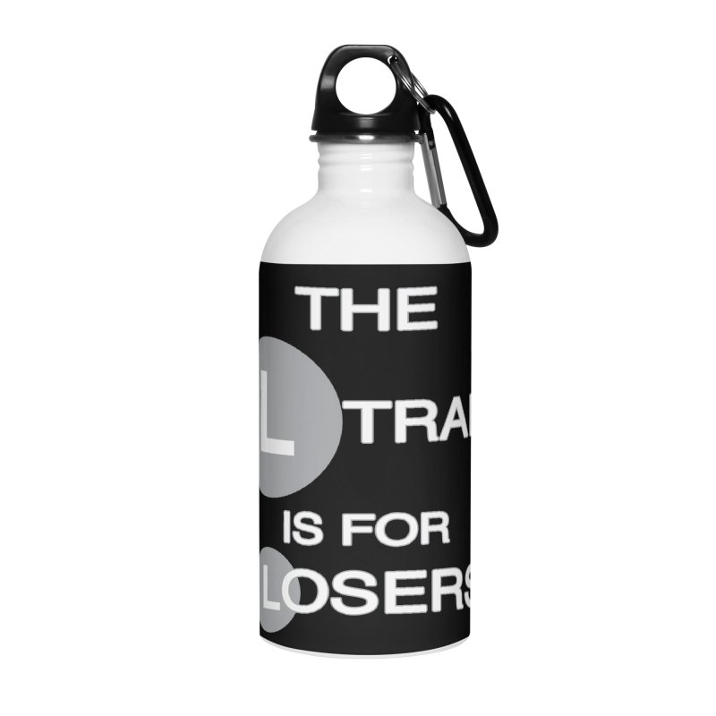 L Train Accessories Water Bottle by Shirts That Never Happened