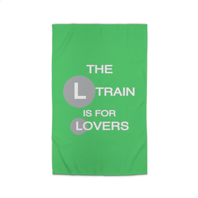 The L Train is for Lovers Home Rug by Shirts That Never Happened