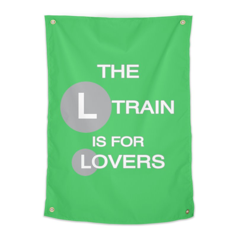 The L Train is for Lovers Home Tapestry by Shirts That Never Happened