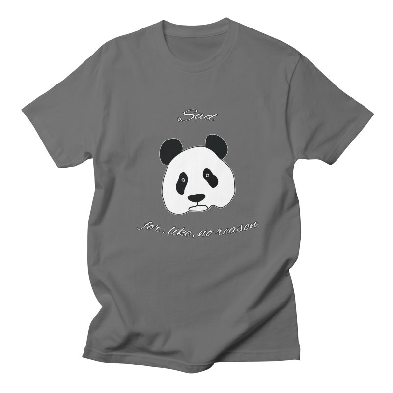 Sad Panda Men's T-Shirt by Shirts That Never Happened