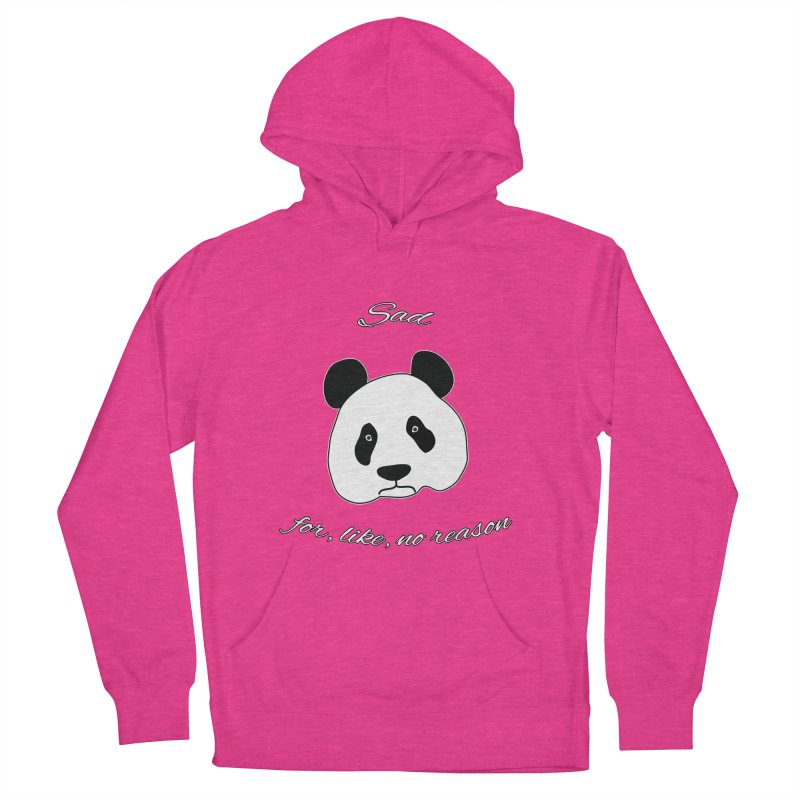 Sad Panda Men's Pullover Hoody by Shirts That Never Happened