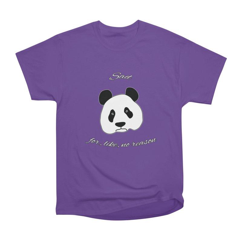 Sad Panda Men's Classic T-Shirt by Shirts That Never Happened