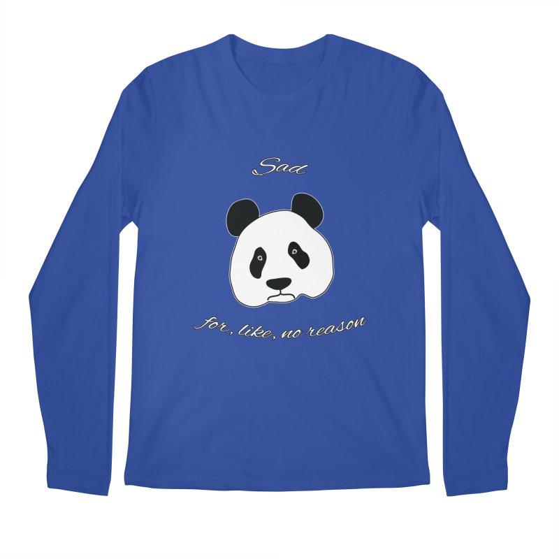Sad Panda Men's Longsleeve T-Shirt by Shirts That Never Happened