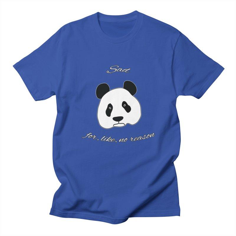 Sad Panda Men's T-Shirt by Shirts That Never Happened
