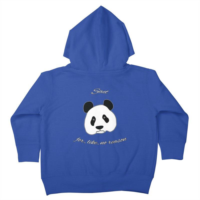 Sad Panda Kids Toddler Zip-Up Hoody by Shirts That Never Happened