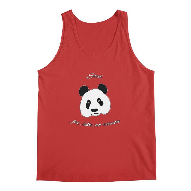 Sad Panda Men's Regular Tank by Shirts That Never Happened