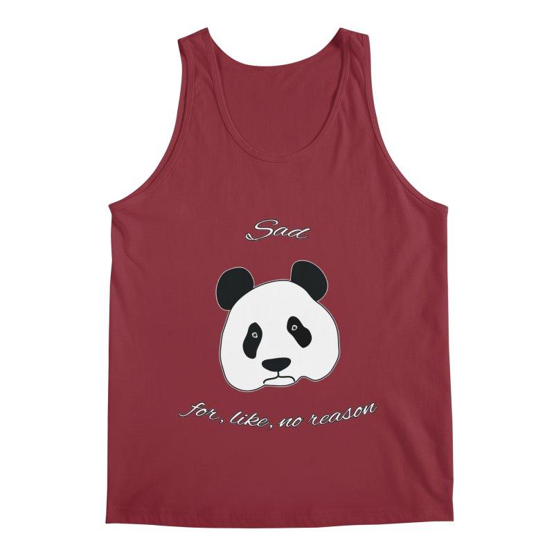 Sad Panda Men's Tank by Shirts That Never Happened
