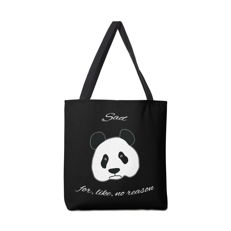 Sad Panda Accessories Bag by Shirts That Never Happened