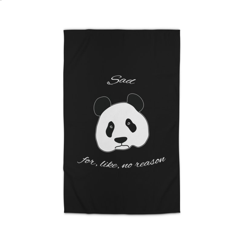 Sad Panda Home Rug by Shirts That Never Happened