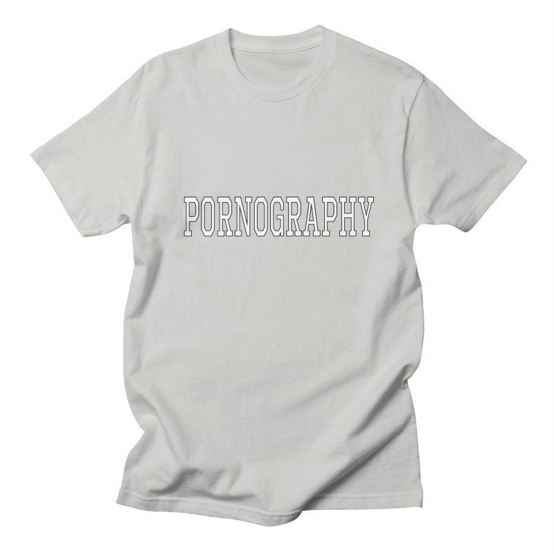 Pornography Men's T-Shirt by Shirts That Never Happened