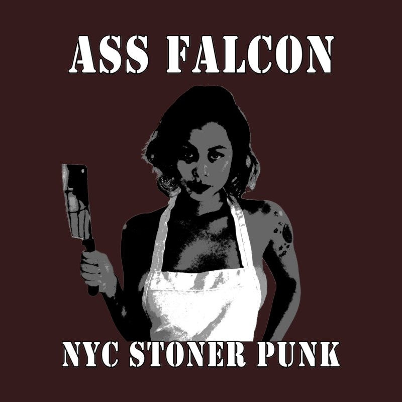 Ass Falcon Women's Fitted T-Shirt by Shirts That Never Happened