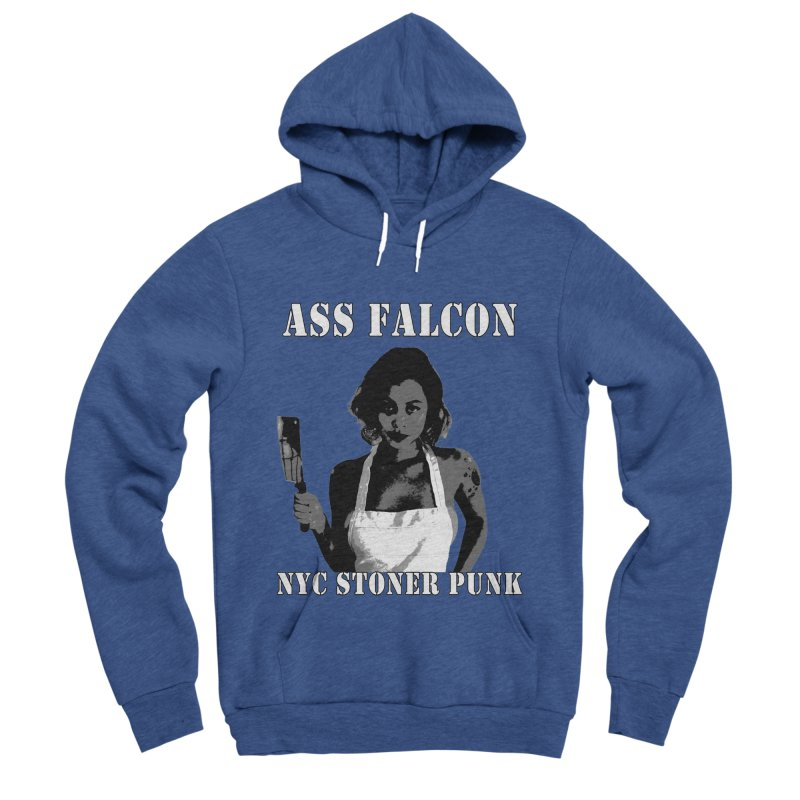 Ass Falcon Men's Sponge Fleece Pullover Hoody by Shirts That Never Happened