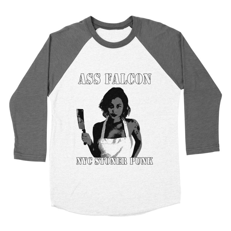 Ass Falcon Women's Longsleeve T-Shirt by Shirts That Never Happened