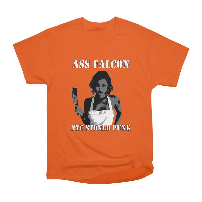 Ass Falcon Men's Heavyweight T-Shirt by Shirts That Never Happened