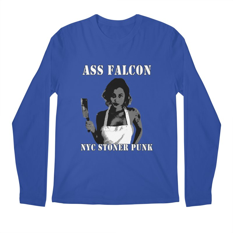 Ass Falcon Men's Regular Longsleeve T-Shirt by Shirts That Never Happened