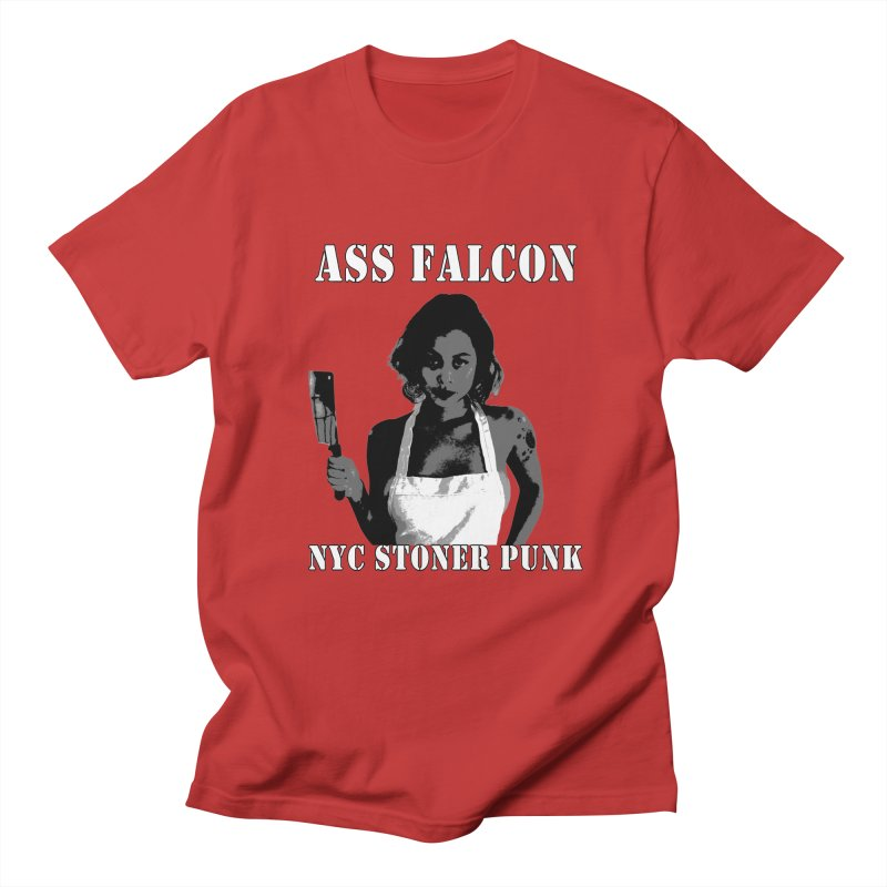 Ass Falcon Women's Regular Unisex T-Shirt by Shirts That Never Happened