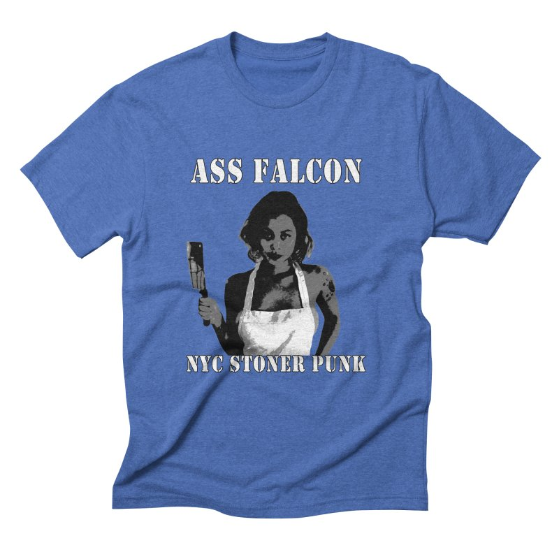 Ass Falcon Men's Triblend T-Shirt by Shirts That Never Happened