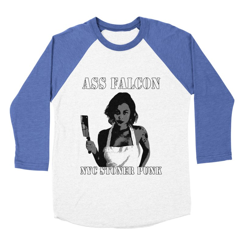 Ass Falcon Men's Baseball Triblend Longsleeve T-Shirt by Shirts That Never Happened