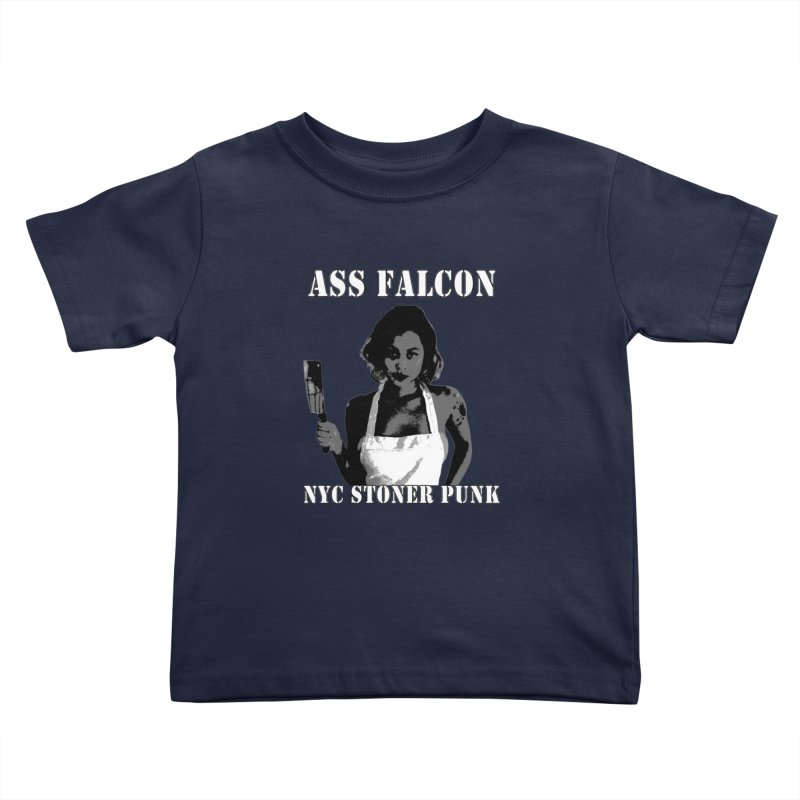 Ass Falcon Kids Toddler T-Shirt by Shirts That Never Happened