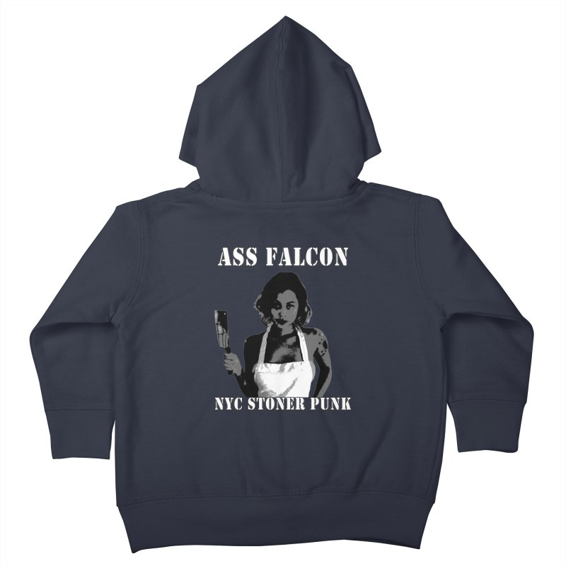 Ass Falcon Kids Toddler Zip-Up Hoody by Shirts That Never Happened