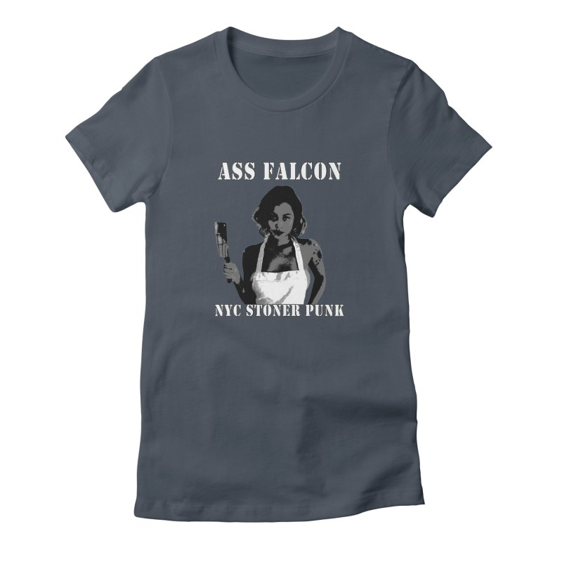 Ass Falcon Women's T-Shirt by Shirts That Never Happened