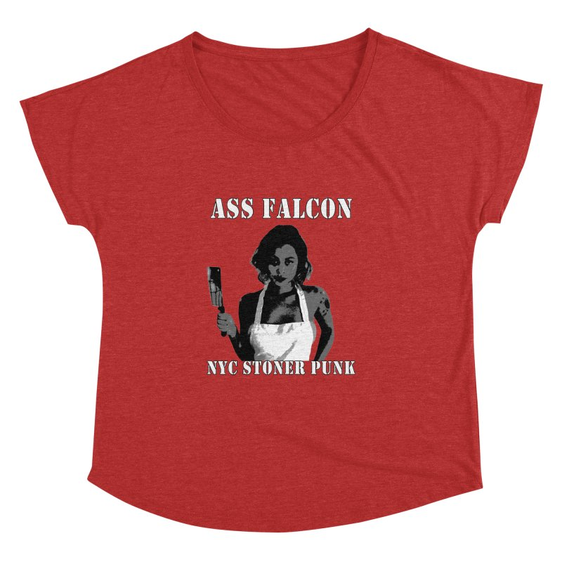 Ass Falcon Women's Dolman by Shirts That Never Happened
