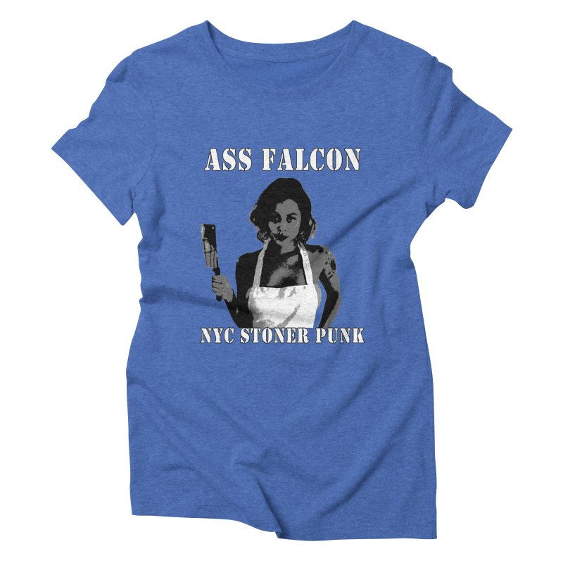 Ass Falcon Women's Triblend T-Shirt by Shirts That Never Happened