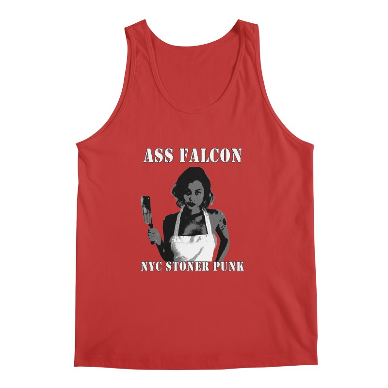 Ass Falcon Men's Regular Tank by Shirts That Never Happened