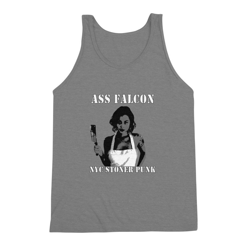 Ass Falcon Men's Triblend Tank by Shirts That Never Happened