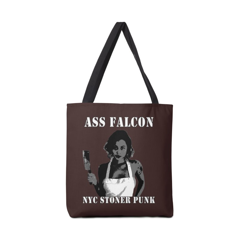 Ass Falcon in Tote Bag by Shirts That Never Happened