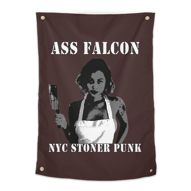 Ass Falcon Home Tapestry by Shirts That Never Happened