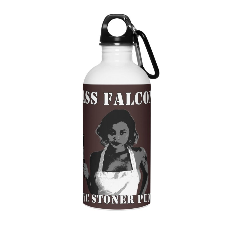 Ass Falcon Accessories Water Bottle by Shirts That Never Happened