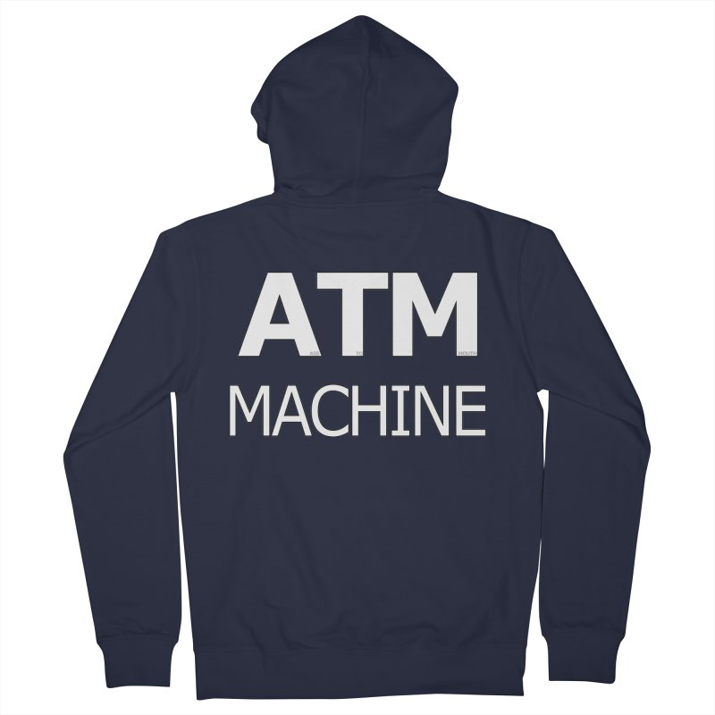 Ass-To-Mouth Machine Women's Zip-Up Hoody by Shirts That Never Happened