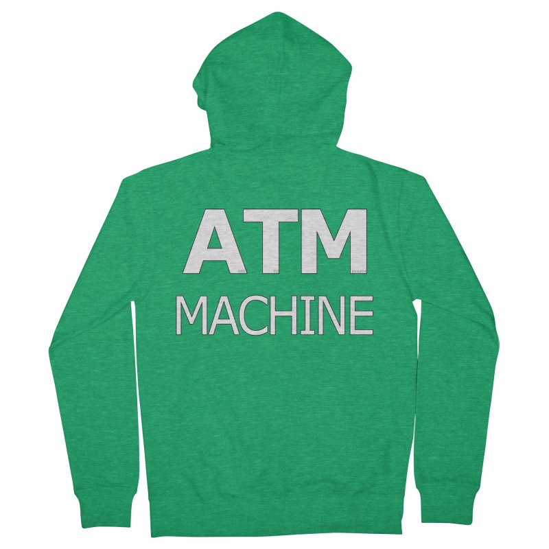 Ass-To-Mouth Machine Men's French Terry Zip-Up Hoody by Shirts That Never Happened