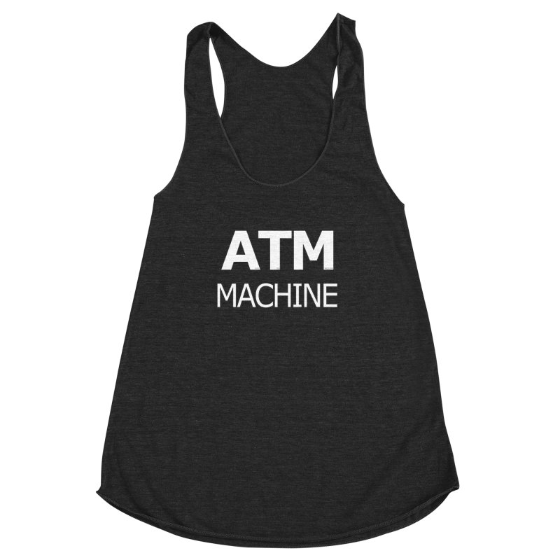 Ass-To-Mouth Machine Women's Racerback Triblend Tank by Shirts That Never Happened