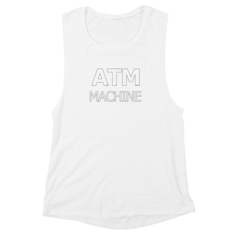 Ass-To-Mouth Machine Women's Muscle Tank by Shirts That Never Happened