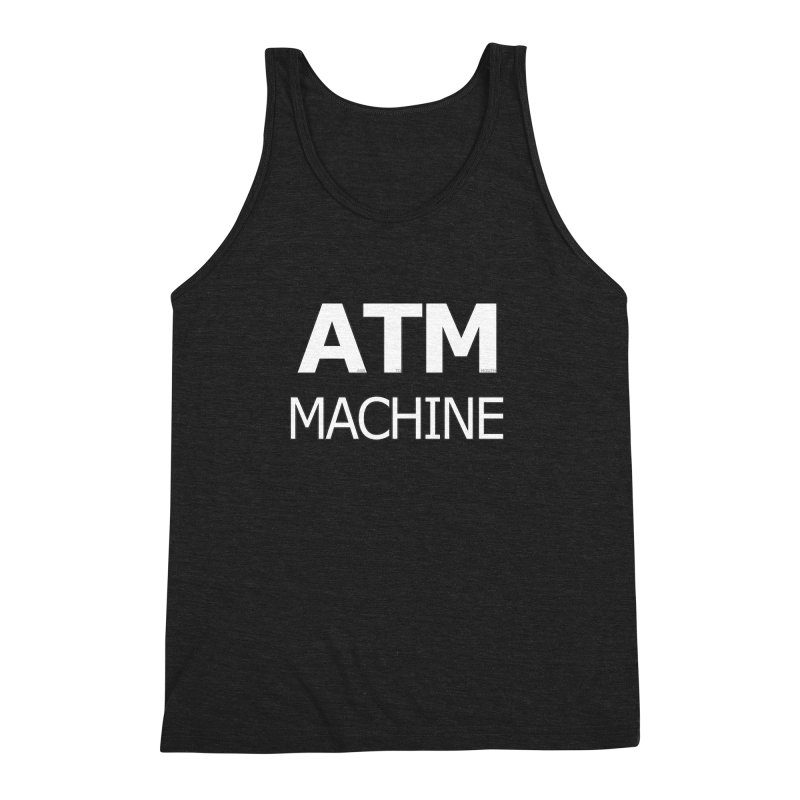 Ass-To-Mouth Machine Men's Triblend Tank by Shirts That Never Happened