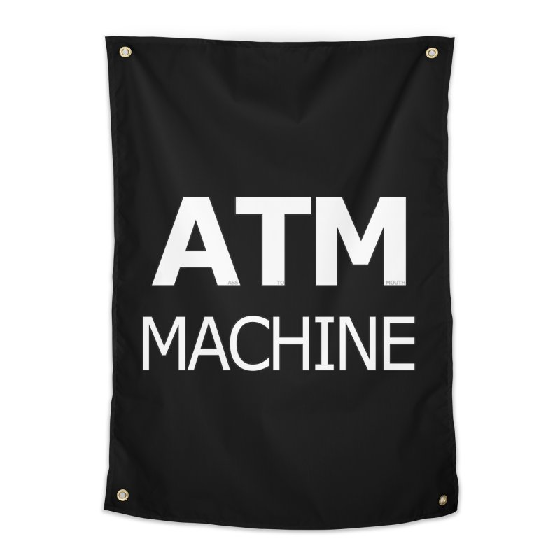Ass-To-Mouth Machine Home Tapestry by Shirts That Never Happened