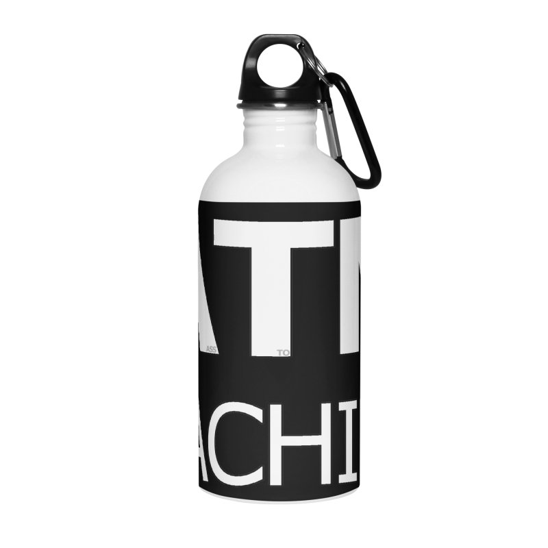 Ass-To-Mouth Machine Accessories Water Bottle by Shirts That Never Happened