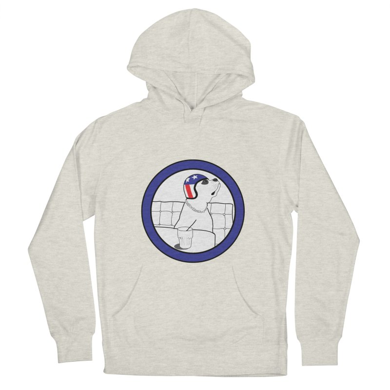Awesome Dog Women's Pullover Hoody by Shirts That Never Happened