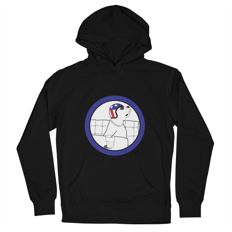 Awesome Dog Women's French Terry Pullover Hoody by Shirts That Never Happened