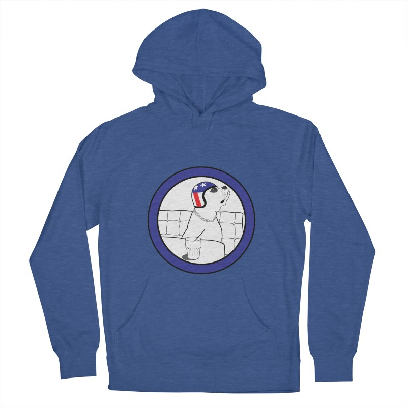 Awesome Dog Men's French Terry Pullover Hoody by Shirts That Never Happened
