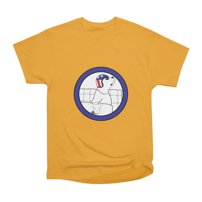 Awesome Dog Men's Heavyweight T-Shirt by Shirts That Never Happened