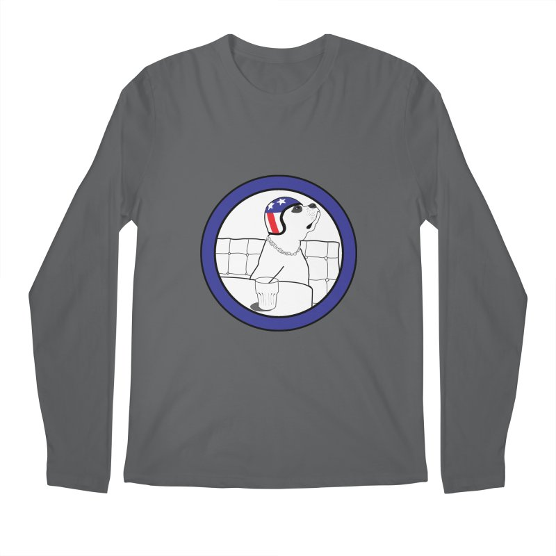 Awesome Dog Men's Regular Longsleeve T-Shirt by Shirts That Never Happened
