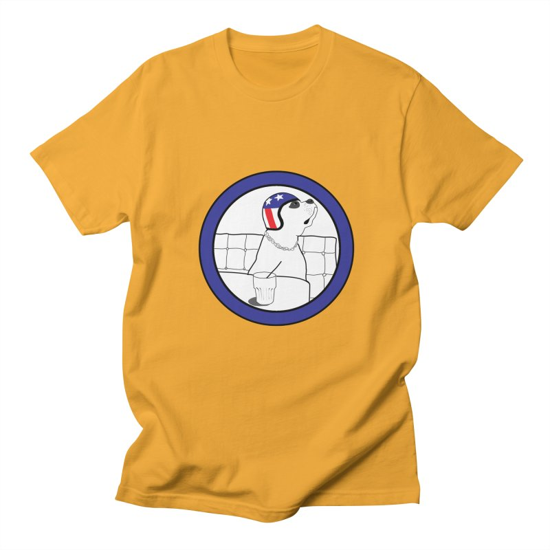 Awesome Dog Men's Regular T-Shirt by Shirts That Never Happened