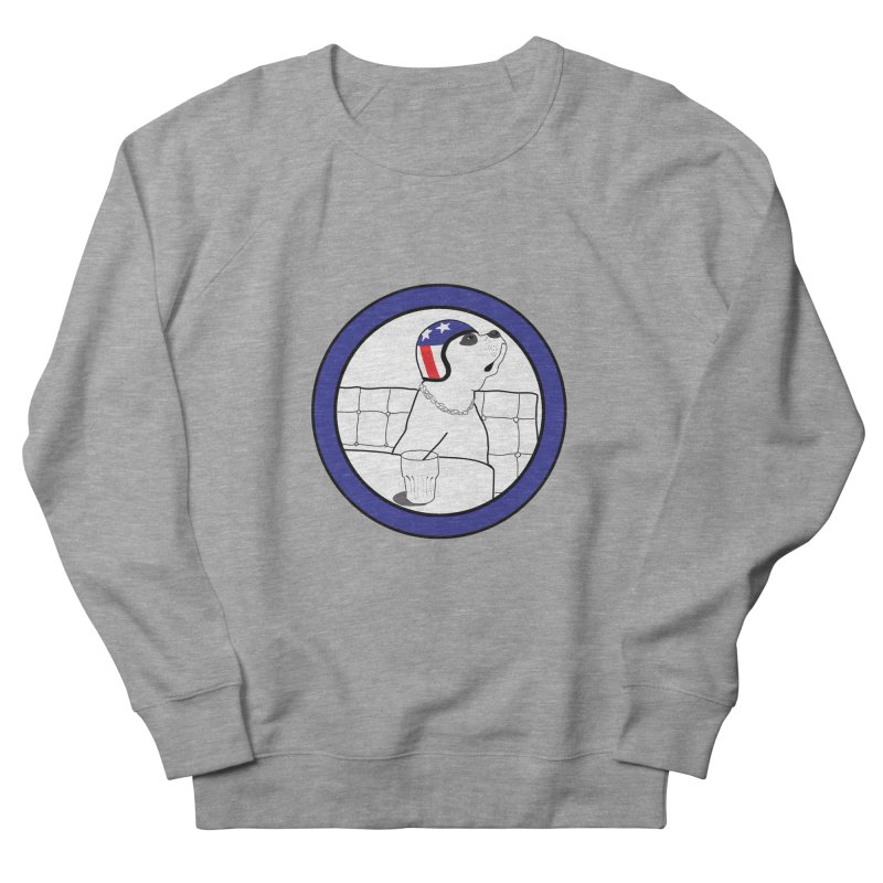 Awesome Dog Women's French Terry Sweatshirt by Shirts That Never Happened