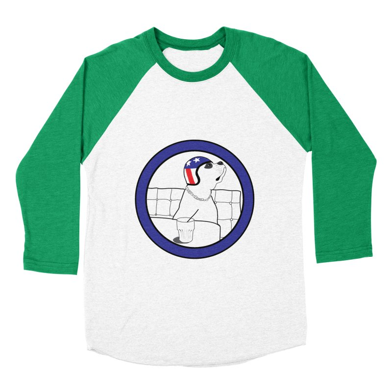 Awesome Dog Women's Baseball Triblend Longsleeve T-Shirt by Shirts That Never Happened