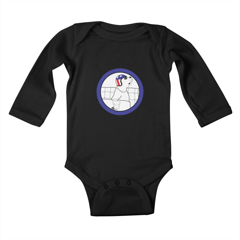Awesome Dog Kids Baby Longsleeve Bodysuit by Shirts That Never Happened